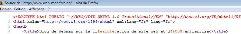 La balise html title
