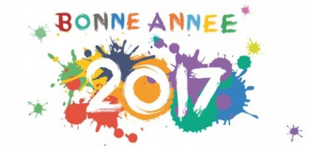 Bonne et heureuse année 2017 !