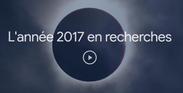TOP 10 des recherches sur Google en 2017