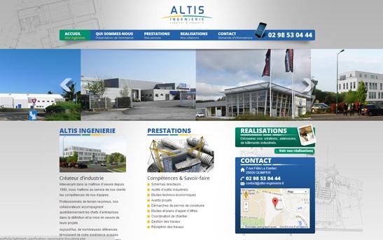 Création site web architecture bureaux détudes ingénierie : site
