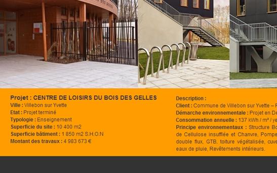 Cr ation site web architecture bureaux d 39 tudes ing nierie site internet architecte - Architecte bureau d etude ...