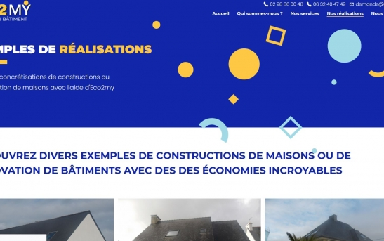 creation site web courtage finistere