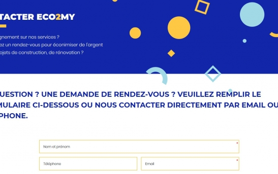 creation site web transport de personnes
