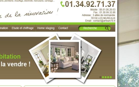 artisan batiment renovation. Black Bedroom Furniture Sets. Home Design Ideas