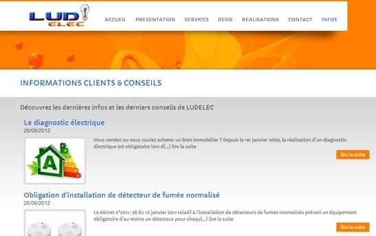 site web électricité