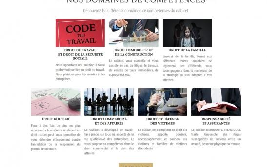 creation site web pour cabinet d'avocat