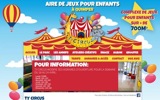 Aire de jeux Ty Circus