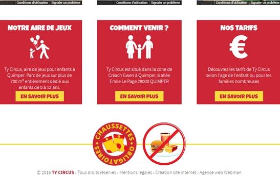 site web aire jeux enfants
