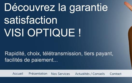 detail site web commerce opticien