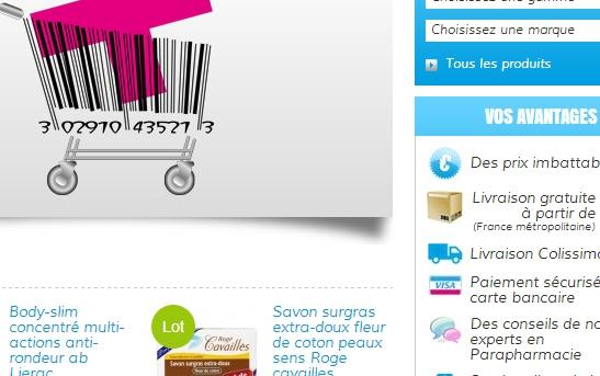 slide détails pharmacie web