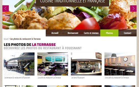 galerie photos restaurant la terrasse