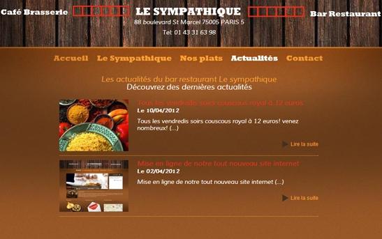 actualités restaurant