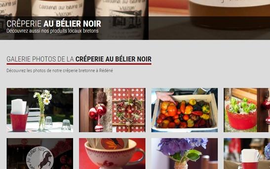 site web creperie bretagne