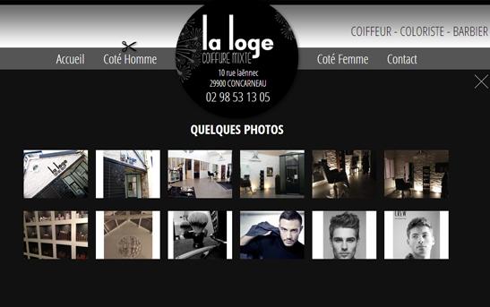 Création site web services à la personne : Création site web Salon ...