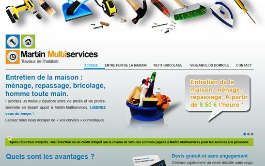 Site Internet Multiservices