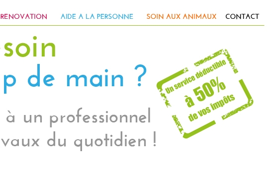 site web aide travaux particuliers