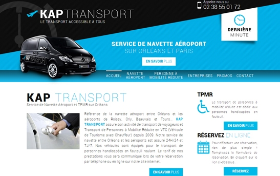 site web transport de personnes