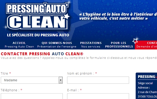 contact pressing auto