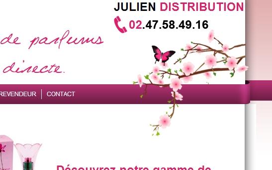 cr ation site web ventes group es site vente de parfum domicile. Black Bedroom Furniture Sets. Home Design Ideas
