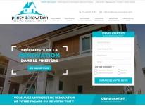 Création site web pour entreprise du bâtiment dans le Finistère