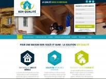 Création site web pour entrprise du bâtiment - Isolation dans le Finistère