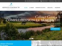 création Site web Cabinet d'Avocat à Quimper