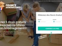Site web pour société de déménagement