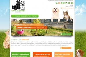 Site du Chenil de Kersaby, Pension chien chat à Concarneau