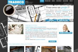 Site web bureau d'études Tradeco