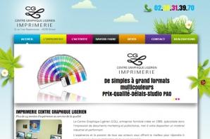 Site web Imprimerie CGL