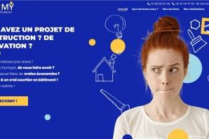 Création Site Web de Courtage en travaux à Chateaulin - Finistère