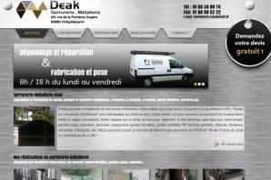 Site Internet Artisan Serrurerie Métallerie