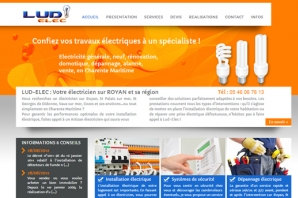 exemple de site internet artisan du batiment