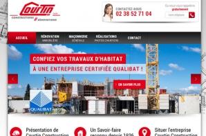 Site Internet entreprise construction et rénovation de maisons