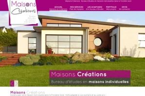 Site web bureau d'études en maisons individuelles