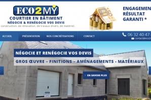 Site web Entreprise de Courtage en Bâtiment