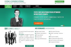 Site web société de conseil en gestion et en formation