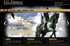 Site web Courtage banque assurance immobilier
