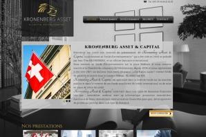 Site web Fonds d'investissement