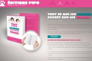 Site web Éditeur livres humour