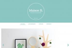 Création de site web vitrine pour un magasin d'objets de décoration écoresponsable