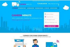 Création site web pour transporteur / déménageur