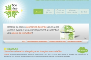exemple de site internet diagnostics immobiliers
