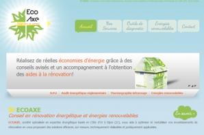 exemple de site internet diagnostics immobiliers