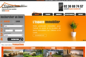 exemple de site agence immobiliere