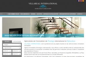 Site Agence Immobilière Internationale