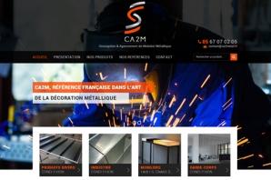 Site web Conception & Agencement de Mobilier Métallique