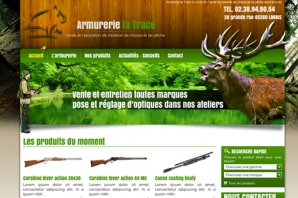 Site web Armurerie chasse