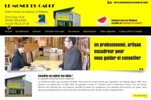Site web Artisan encadreur