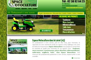 Site Internet Motoculture